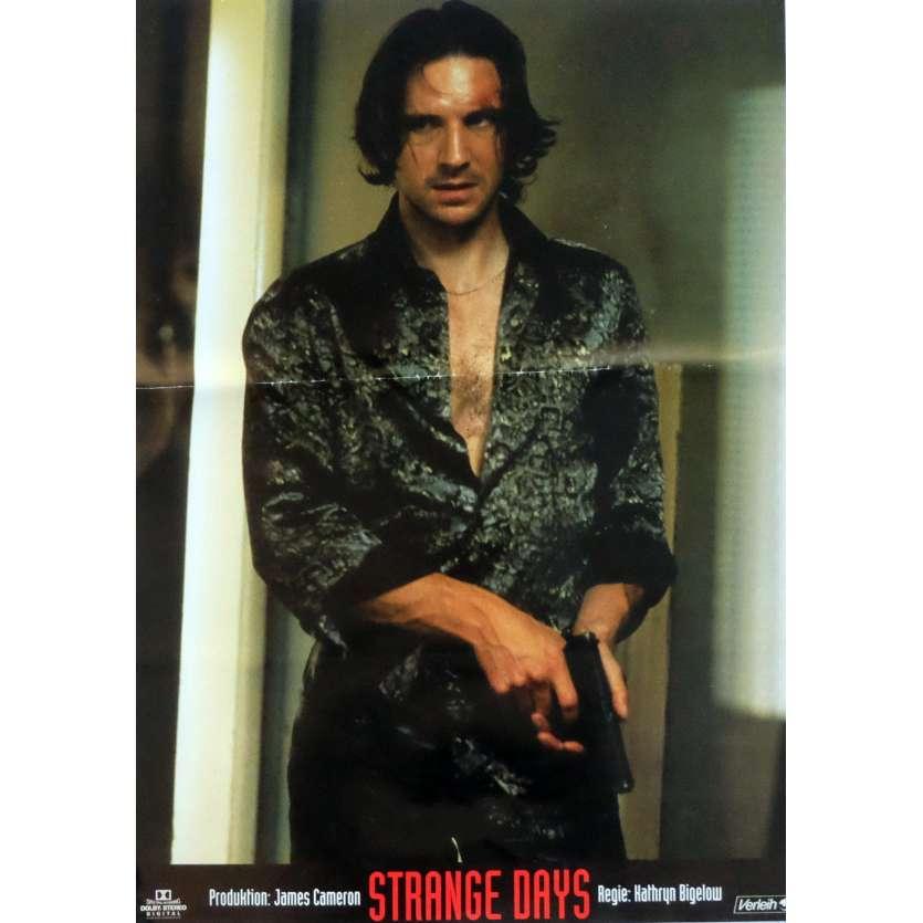 STRANGE DAYS Photobusta Poster N1 15x21 in. German - 1995 - Kathryn Bigelow, Ralph Fiennes