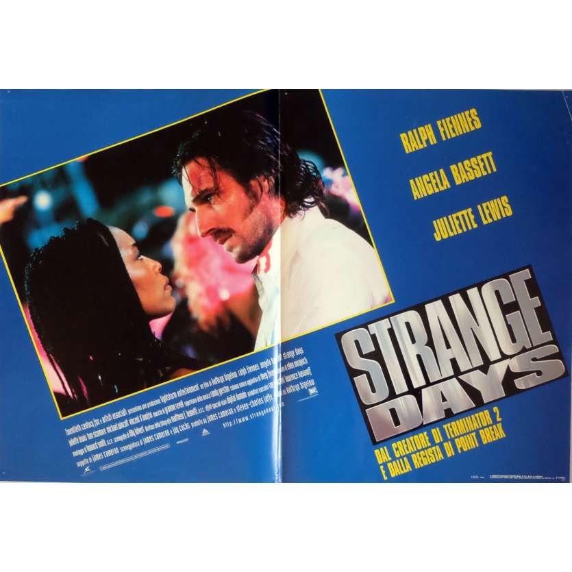 STRANGE DAYS Photobusta Poster N2 18x26 in. Italian - 1995 - Kathryn Bigelow, Ralph Fiennes