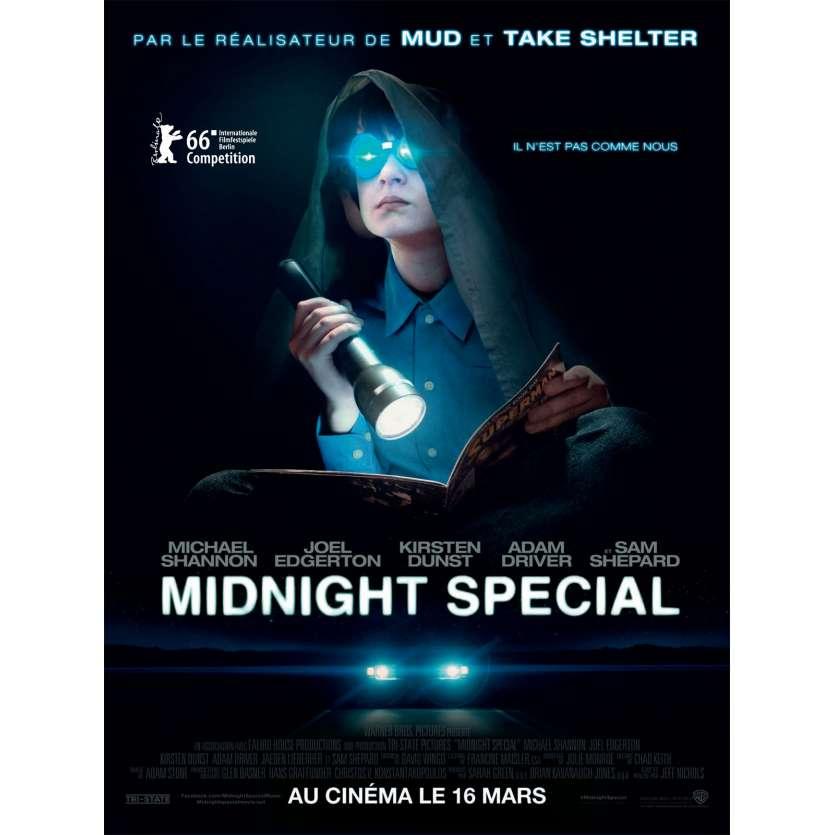 MIDNIGHT SPECIAL Movie Poster 15x21 in. French - 2016 - Jeff Nichols, Kirsten Dunst