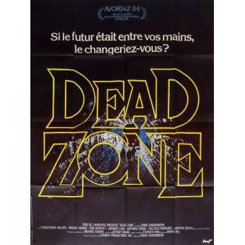 DEAD ZONE Affiche de film 120x160 - 1983 - Christopher Walken, David Cronenberg