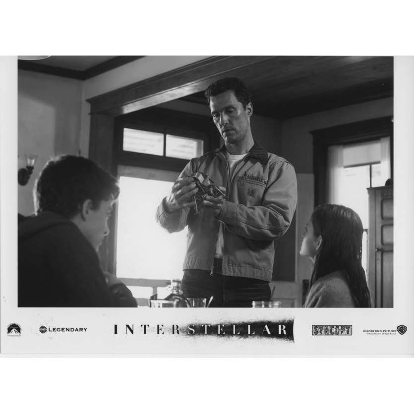 INTERSTELLAR Photo de presse N26 13x18 cm - 2014 - Matthew McConaughey, Christopher Nolan
