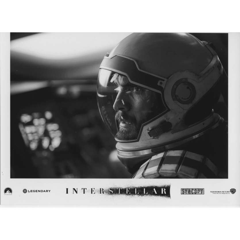 INTERSTELLAR Photo de presse N13 13x18 cm - 2014 - Matthew McConaughey, Christopher Nolan