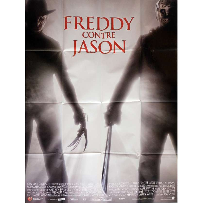FREDDY VS JASON Movie Poster 47x63 in. French - 2003 - Ronny Yu, Robert Englund