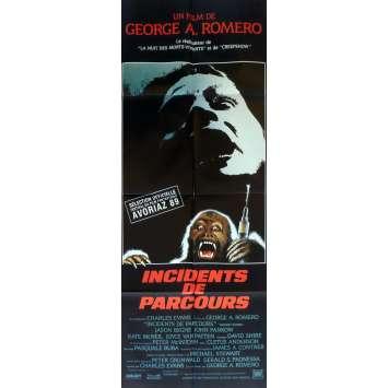 MONKEY SHINES Movie Poster 23x63 in. French - 1988 - George A. Romero, John Pankow