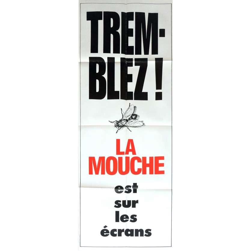 LA MOUCHE Affiche de film 60x160 cm - 1986 - Jeff Goldblum, David Cronenberg