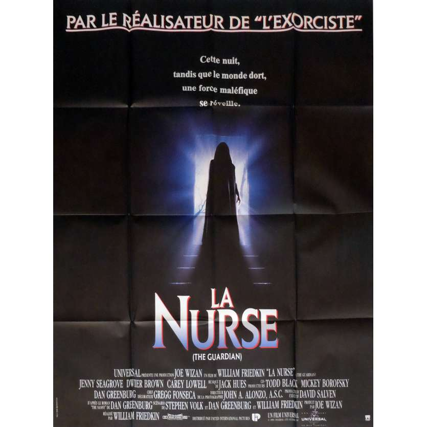 THE GUARDIAN Movie Poster 47x63 in. French - 1990 - William Friedkin, Jenny Seagrove