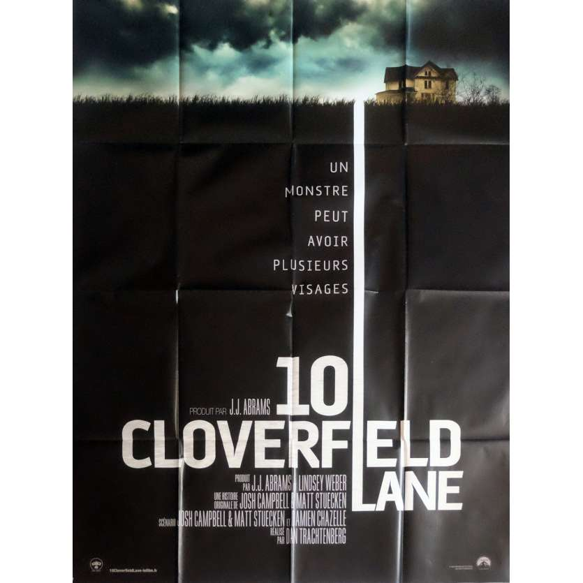 10 CLOVERFIELD LANE Movie Poster 47x63 in. - 2016 - Dan Trachtenberg, John Goodman