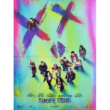 SUICIDE SQUAD Affiche de film Adv. 40x60 cm - 2016 - Margot Robbie, David Ayer