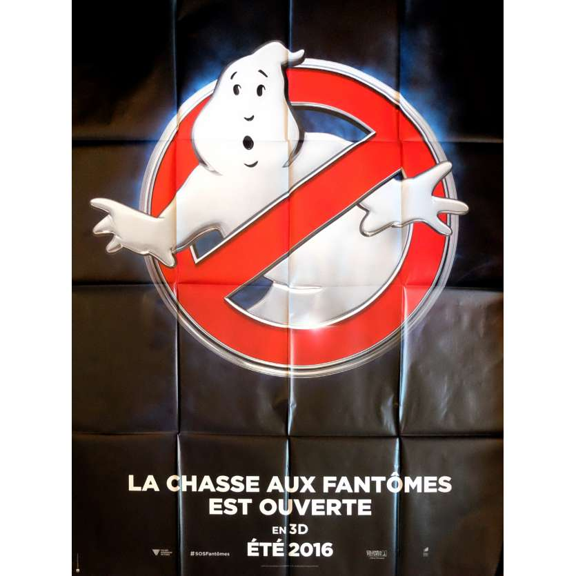 GHOSTBUSTERS 3D Movie Poster Adv. 47x63 in. - 2016 - Paul Feig, Melissa McCarthy