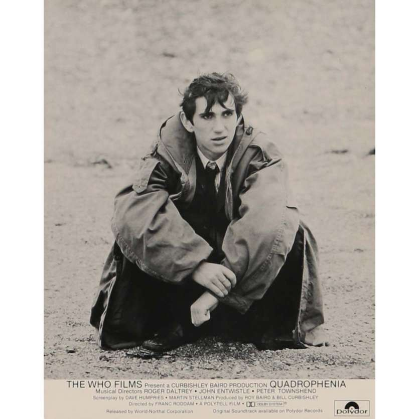 QUADROPHENIA Photo de presse N2 20x25 cm - 1980 - The Who, Frank Roddam