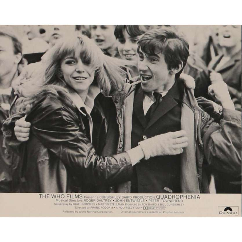 QUADROPHENIA Photo de presse N3 20x25 cm - 1980 - The Who, Frank Roddam