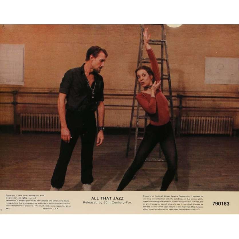 QUE LE SPECTACLE COMMENCE Photos de film N4 20x25 cm - 1979 - Roy Sheider, Bob Fosse
