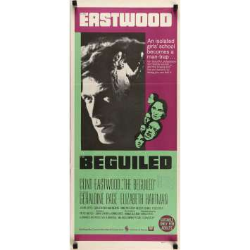 THE BEGUILED Movie Poster 13x28 in. - 1971 - Don Siegel, Clint Eastwood