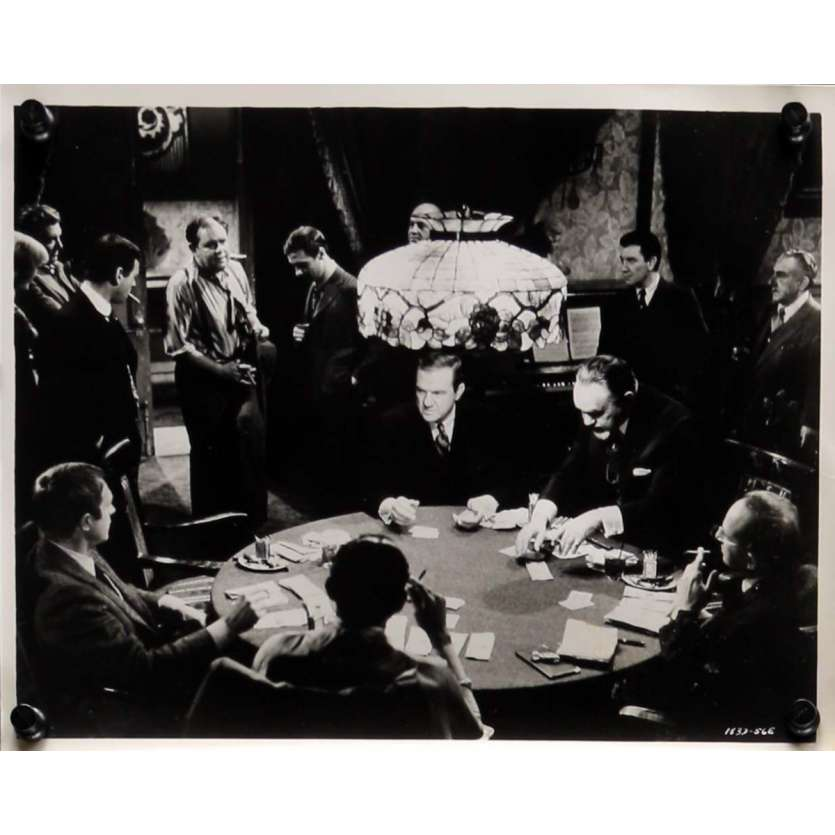 LE KID DE CINCINNATI Photo de presse N01 20x25 cm - 1965 - Steve McQueen, Norman Jewison