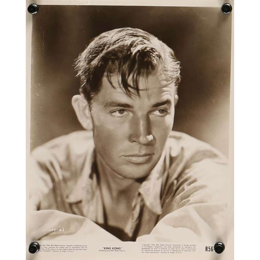 KING KONG Movie Still N2 8x10 in. - R1958 - Merian C. Cooper, Fay Wray