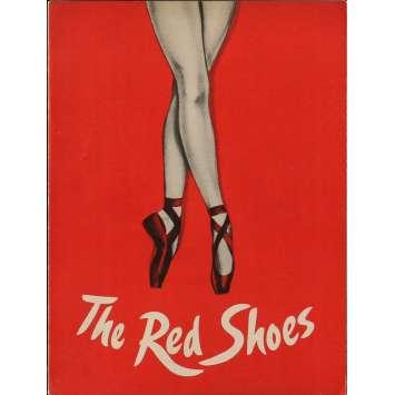 LES CHAUSSONS ROUGES Programme 21x30 cm - 1949 - Moira Sheerer, Powell-Pressburger