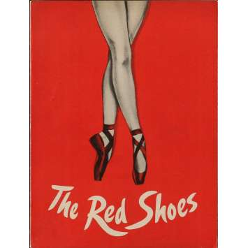 RED SHOES Program 9x12 in. - 1949 - Powell-Pressburger, Moira Sheerer