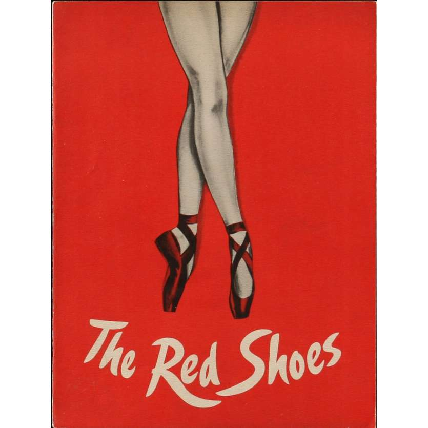 LES CHAUSSONS ROUGES Programme 21x30 cm - 1949 - Moira Sheerer, Powell-Pressburger