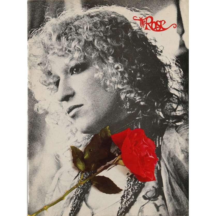 ROSE Program 9x12 in. - 1979 - Mark Rydell, Bette Midler