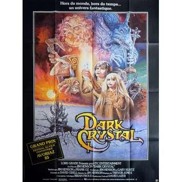 DARK CRYSTAL Affiche 120x160 FR '81 Jim Henson, Oz Movie Poster