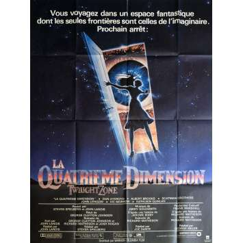 TWILIGHT ZONE French Movie Poster 47x63 - 1983 - Steven Spielberg, John Lightow