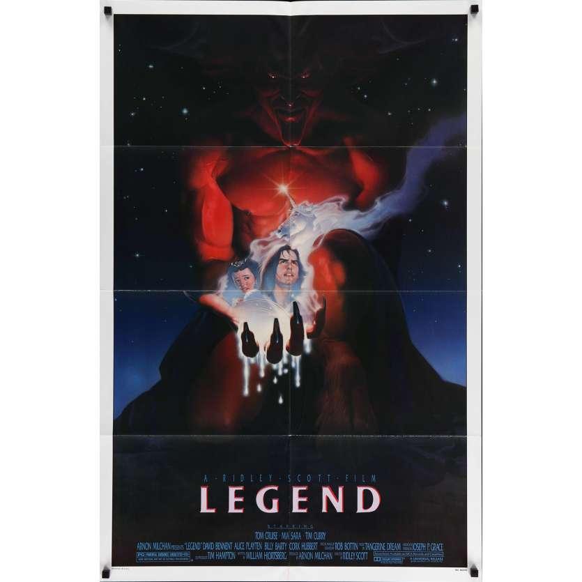 LEGEND Rare Style B US Movie Poster 29x40 - 1985 - Ridley Scott, Tom Cruise