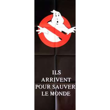 GHOSTBUSTERS Movie Poster 23x63 in. - 1984 - Ivan Reitman, Bill Murray, Dan Aykroyd