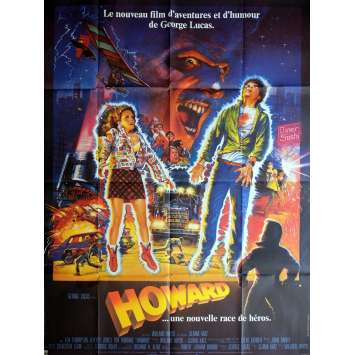 HOWARD THE DUCK Movie Poster 47x63 in. - 1986 - George Lucas, Tim Robbins