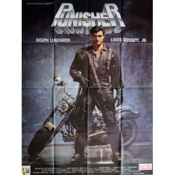 THE PUNISHER Movie Poster 47x63 in. - 1989 - Mark Goldblatt, Dolph Lundgren