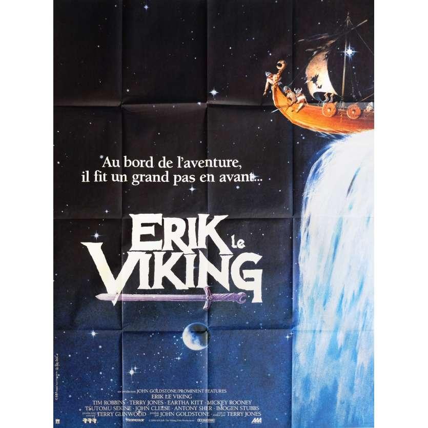 ERIK THE VIKING Movie Poster 47x63 in. - 1989 - Terry Jones, Tim Robbins