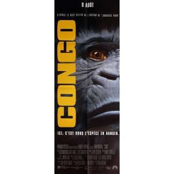 CONGO Movie Poster 23x63 in. - 1995 - Frank Marshall, Tim Curry