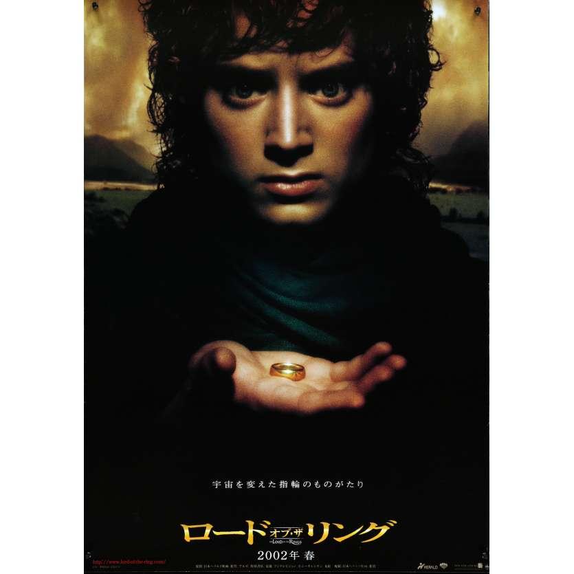 LE SEIGNEUR DES ANNEAUX - LA COMMUNAUTE Affiche de film 52x72 cm - 2001 - Viggo Mortensen, Peter Jackson