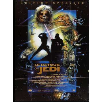 STAR WARS - THE RETURN OF THE JEDI Movie Poster 47x63 in. - R1997 - Richard Marquand, Harrison Ford
