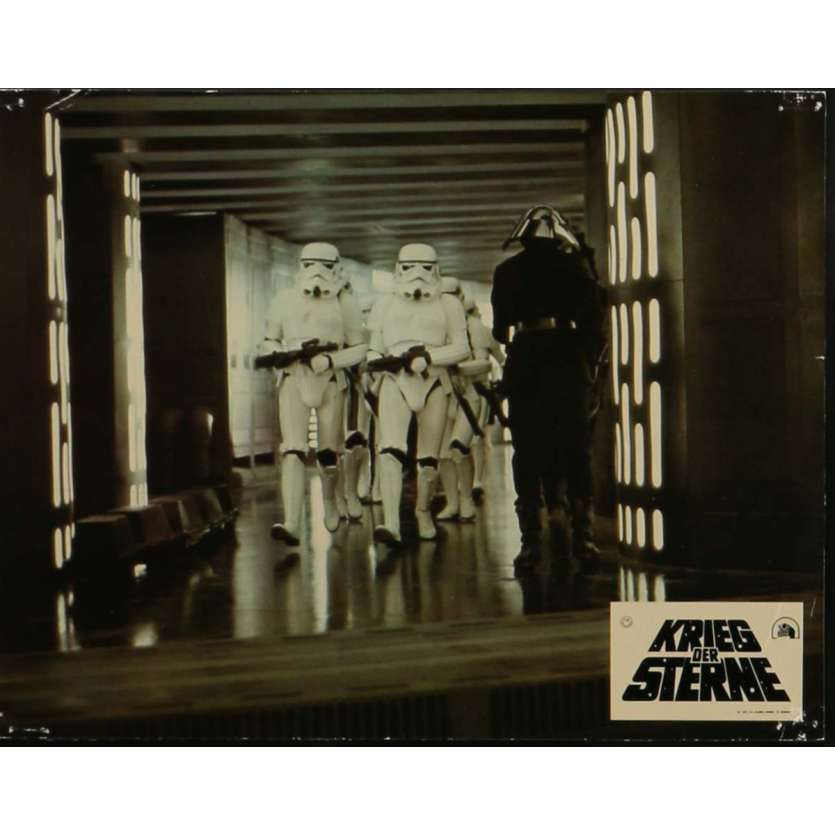 STAR WARS - A NEW HOPE Lobby Card N1 9x12 in. - 1977 - George Lucas, Mark Hamill
