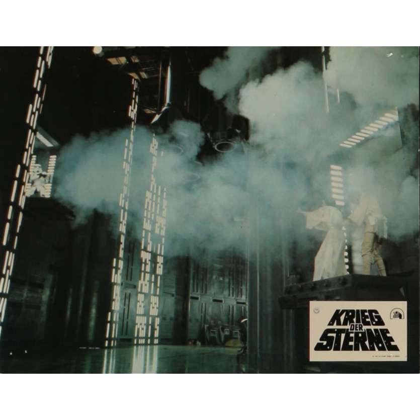 STAR WARS - A NEW HOPE Lobby Card N3 9x12 in. - 1977 - George Lucas, Mark Hamill