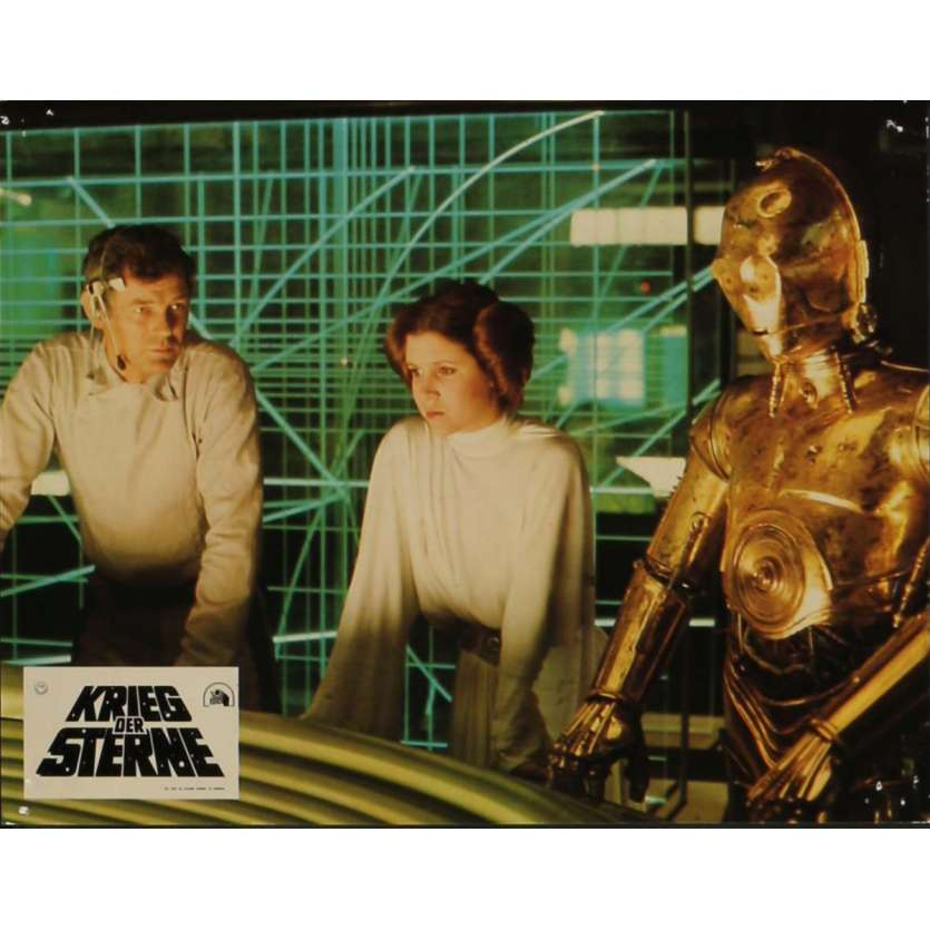 STAR WARS - LA GUERRE DES ETOILES Photo de film N8 21x30 cm - 1977 - Mark Hamill, George Lucas