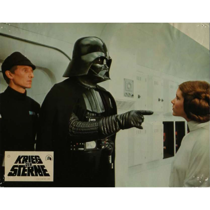 STAR WARS - A NEW HOPE Lobby Card N15 9x12 in. - 1977 - George Lucas, Mark Hamill