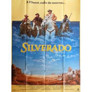SILVERADO Affiche de film 120x160 cm - 1985 - Kevin Costner, Lawrence Kasdan