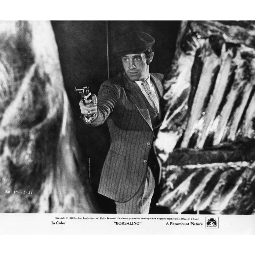 BORSALINO Movie Still N2 8x10 in. - 1970 - Alain Delon, Jean-Paul Belmondo