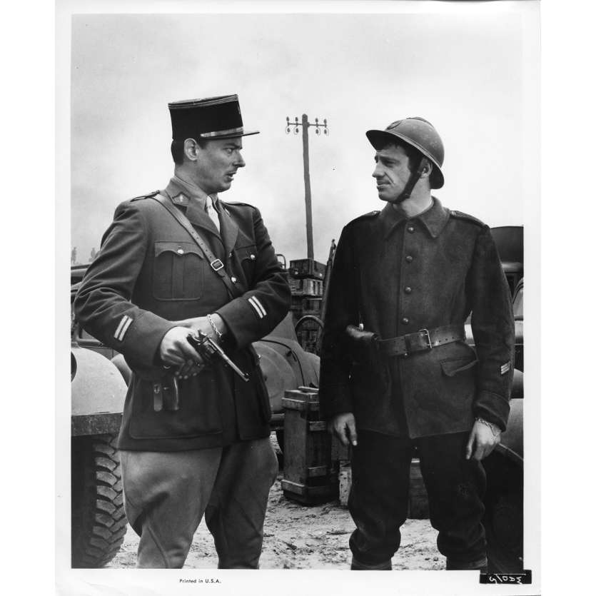 WEEKEND AT DUNKIRK Movie Still N5 8x10 in. - 1964 - Henri Verneuil, Jean-Paul Belmondo