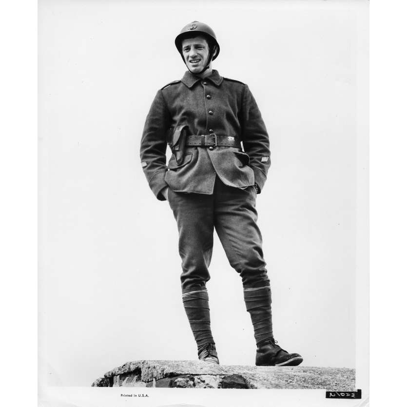 WEEK-END A ZUYDCOOTE Photo de presse N1 20x25 cm - 1964 - Jean-Paul Belmondo, Henri Verneuil