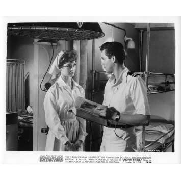 DOCTOR AT SEA Movie Still N5 8x10 in. - 1955 - Ralph Thomas, Brigitte Bardot