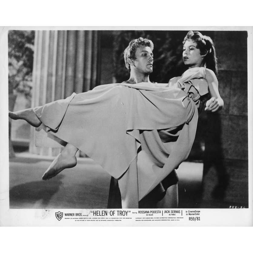 HELEN OF TROY Movie Still 8x10 in. - 1956 - Robert Wise, Brigitte Bardot