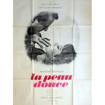 THE SOFT SKIN Movie Poster 47x63 in. - 1964 - François Truffaut, Françoise Dorléac