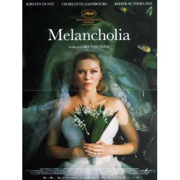 MELANCHOLIA French Movie Poster 15x21 '11 Kirsten Dunst, Lars Von Trier