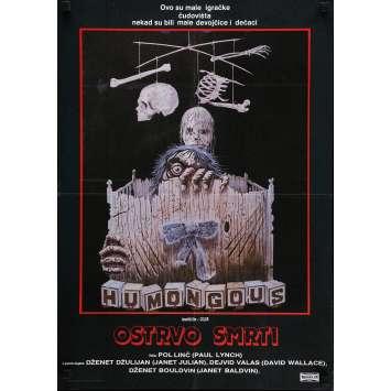 HUMONGOUS Movie Poster 20x27 in. - 1982 - Paul Lynch, Janet Julian