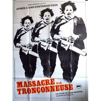 THE TEXAS CHAINSAW MASSACRE Movie Poster 47x63 in. - 1974 - Tobe Hooper, Marilyn Burns
