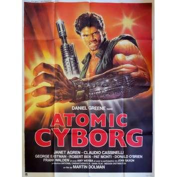 ATOMIC CYBORG Movie Poster 47x63 in. - 1986 - Sergio Martino, Daniel Greene
