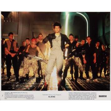 ALIENS Lobby Card N3 8x10 in. - 1986 - James Cameron, Sigourney Weaver