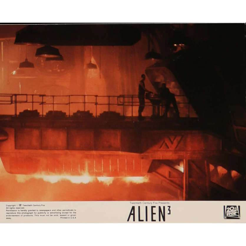 ALIEN 3 Lobby Card N8 8x10 in. - 1992 - David Fincher, Sigourney Weaver